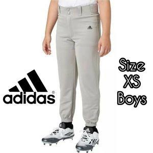 Adidas baseball pants- kids boys